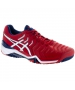 Asics Men's Gel Resolution 7 Tennis Shoes(True Red/White/Indigo Blue)  - Lightweight Tennis Shoes