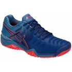 Asics Men's Gel Resolution 7 Tennis Shoes (Blue Print) - Asics Gel-Resolution Tennis Shoes