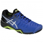 Asics Men's Gel Resolution 7 Tennis Shoes (Illusion Blue/Silver) - Types of Tennis Shoes