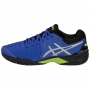 Asics Men's Gel Resolution 7 Tennis Shoes (Illusion Blue/Silver)