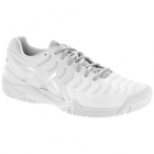 Asics Women's Gel Resolution 7 Tennis Shoes (White/Silver) - Asics Tennis Shoes