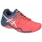 Asics Women's Gel Resolution 7 Tennis Shoes (Papaya/White) - How To Choose Tennis Shoes