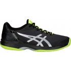 Asics Men's Gel Court Speed Tennis Shoes (Black/Yellow) - Asics