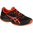 Asics Men's Gel Court Speed Tennis Shoes (Black/Cherry Tomato) - Types of Tennis Shoes