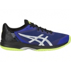 Asics Men's Gel Court Speed Tennis Shoes (Illusion Blue/Silver) - Asics