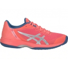Asics Women's GEL-Court Speed Tennis Shoes (Papaya/Silver) - Asics Tennis Shoes