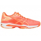 Asics Women's GEL-Solution Speed 3 Tennis Shoes (Flash Coral/Canteloupe/Apricot Ice) - Asics Gel-Solution and Solution Speed Tennis Shoes