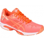 Asics Women's GEL-Solution Speed 3 Tennis Shoes (Flash Coral/Canteloupe/Apricot Ice) - Asics Tennis Shoes