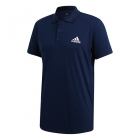 Adidas Men's Club Rib Tennis Polo (Collegiate Navy) - Men's Polo Shirts