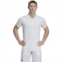 Adidas Men's Club Rib Tennis Polo (White)