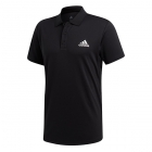 Adidas Men's Club Rib Tennis Polo (Black) - Men's Polo Shirts