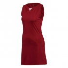 Adidas Women's Club Tennis Dress (Red) - Women's Tennis Apparel