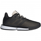 Adidas Women's SoleMatch Bounce Tennis Shoes (Core Black/Linen) -
