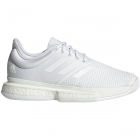 Adidas Women's SoleCourt Boost Primeblue x Parley Tennis Shoes (White/White) - Shop the Best Selection of Tennis Shoes for Any Court Surface