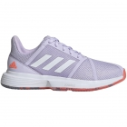 Adidas Women's CourtJam Bounce Tennis Shoes (Signal Coral/Purple Tint/Tech Purple) - Enjoy Free FedEx 2-Day Shipping on Select Women's Shoes
