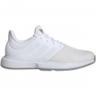 Adidas Men's GameCourt Tennis Shoes (White/White) - Adidas GameCourt Tennis Shoes