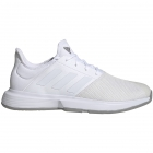 Adidas Men's GameCourt Wide Tennis Shoes (White/Dove Grey) - Wide Tennis Shoes