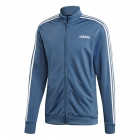 Adidas Men's 3 Stripe Tricot Tennis Jacket (Tech Ink) - Adidas Men's Tennis Apparel