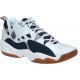 Ektelon Men's NFS Classic Mid Racquetball (White / Navy) - Mid-Top Tennis Shoes