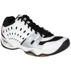 Ektelon Men's T22 Mid Racquetball Shoe (White / Black/ Silver) - Ektelon