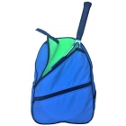 Maggie Mather Tennis Backpack (Electric Blue/Lime) - Maggie Mather Tennis Backpacks