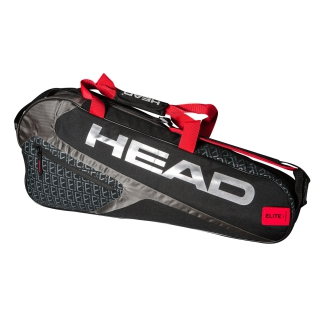 Head Elite 3R Pro Tennis Bag (Black/Red)