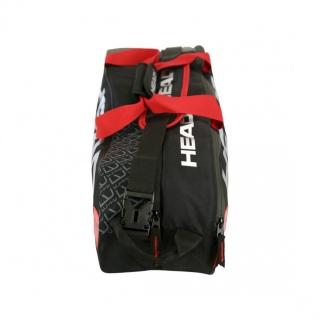 Head Elite 6R Combi Tennis Bag (Black Red) - Do It Tennis bd075267c28b0