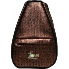 40 Love Courture Copper Croc Elizabeth Tennis Backpack - 40 Love Courture
