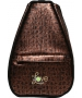 40 Love Courture Copper Croc Elizabeth Tennis Backpack - New Tennis Bags