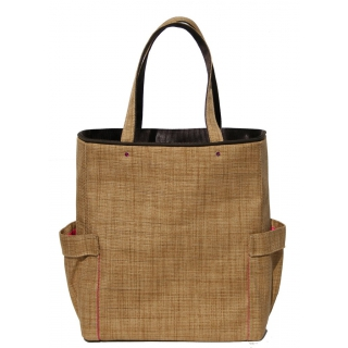 40 Love Courture Natural Weave Emma Tote