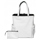 40 Love Courture White Quilt Emma Tote - 40 Love Courture