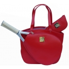 Court Couture Cassanova Tennis Bag (Epi Red) - Court Couture Tennis Bags