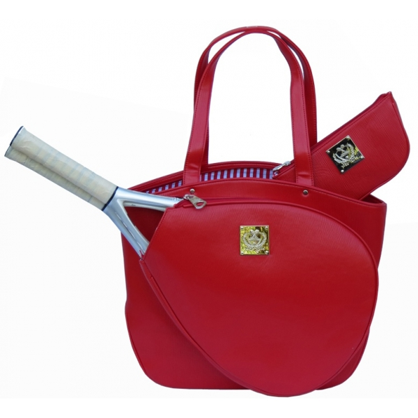 Court Couture Cassanova Tennis Bag (Epi Red)