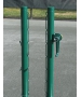 Har-Tru Advantage External-Wind Post - Courtmaster Tennis Posts