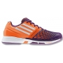Adidas Women's CC adiZero Tempaia III Tennis Shoes (Orange /Purple /White)