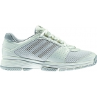 Adidas Barricade Team 3 Womens Tennis Shoes (White/ Silver/ Grey) - Adidas Barricade Team Tennis Shoes