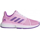 Adidas Women's CourtJam Bounce Tennis Shoes (True Pink/Active Purple/White) - Enjoy Free FedEx 2-Day Shipping on Select Women's Shoes