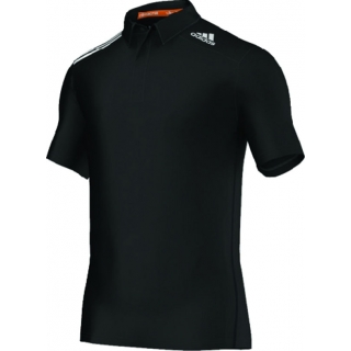 Adidas Men's ClimaChill Polo (Black)