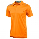 Adidas Men's ClimaChill Polo (Solar Zest) - Men's Polo Shirts
