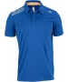 Adidas Men's ClimaChill Polo (Blue) - Adidas Men's Apparel Tennis Apparel