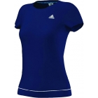 Adidas Women's Galaxy Tee (Night Blue/ White) - Adidas Women's Apparel Tennis Apparel