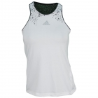 Adidas Women's adiZero Tank (White) - Adidas Women's Apparel Tennis Apparel