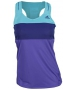 Adidas Response Tank (Purple/ Navy/ Teal) - Women's Tops Tennis Apparel