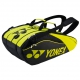 Yonex Pro Series 9-Pack Racquet Bag (Black/Lime) - Tennis Bags on Sale