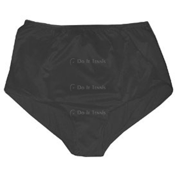 Fancy Pants Double Ballpocket Tennis Panty (Black)
