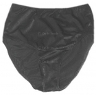 Fancy Pants Panty Modified French (Black) - Tennis Apparel Brands