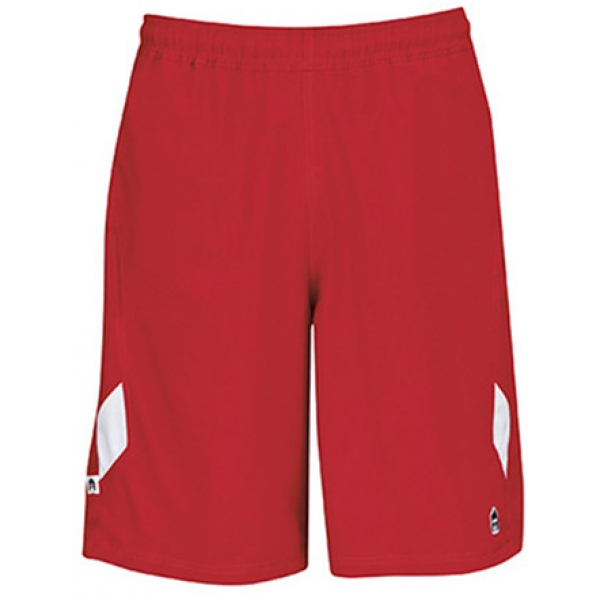 DUC Fierce Men's 9.5 Tennis Shorts (Red)