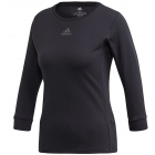 Adidas Women's Heat Rdy 3/4 Tennis Top (Black/Night Met) -