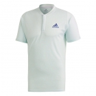 Adidas Men's Freelift HEAT.RDY Tennis Polo (Dash Green/Tech Indigo) - Specials & Deals on Premium Tennis Gear