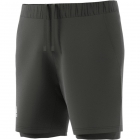 Adidas Men's HEAT.RDY 2in1 7 Inch Tennis Shorts (Legend Earth/Grey) - Specials & Deals on Premium Tennis Gear